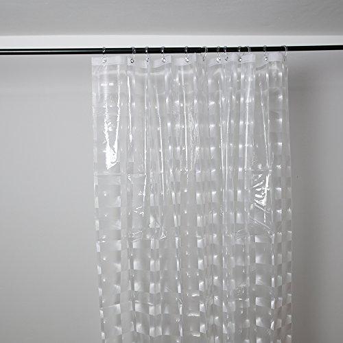 Duschy Duschvorhang 3D- Transparent - 3