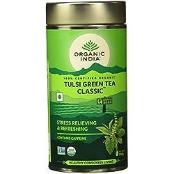 Organic India The Tulsi Green Tea, 100g