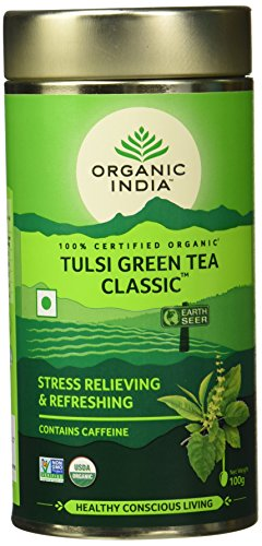 Organic India Classic Tulsi Green Tea, 100 g
