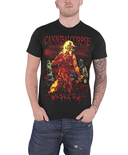 Cannibal Corpse - Top - Maniche corte - Uomo nero Medium