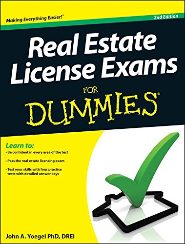 [Real Estate License Exams For Dummies] (By: John A. Yoegel) [published: August, 2013]