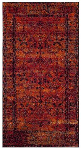 Safavieh Vintage Bereich Teppich, Polypropylen, Orange, 2'7