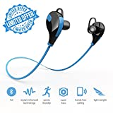 #5: XORDUX™ DIWALI OFFER Wireless Bluetooth Headphones with MIC Hands-Free Calling | Lightweight Wireless Sports Headphones with Built In Mic Compatible For All Android & IOS Devices - Assorted Color