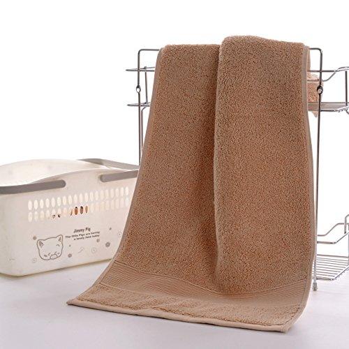 Pure Cotton Super Soft Contemporary Tücher, (2 Stück Handtuch Set,) (Kleine Handtücher Turnhalle Schweiß)