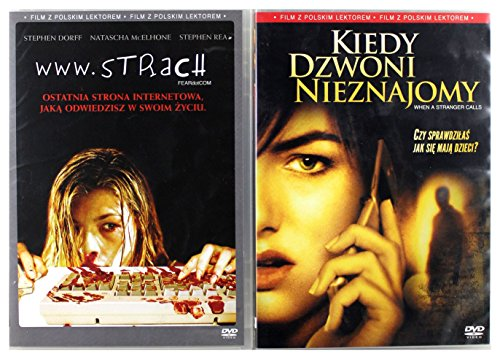 www.strach / Kiedy dzwoni nieznajomy Pakiet [2DVD] (Keine deutsche Version)