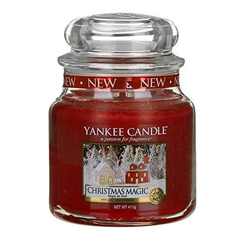 Yankee Candle Candela Giara Media, Christmas Magic, 1