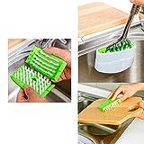 Buyerzone Cutlery Cleaner Easy Dish Washing No More Sponge Brush Utensil Scrubber