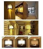 Signstek 10LED Wireless Wall Light Sconce Motion Sensor Hallway Staircase Wardrobe Cabinet Lamp