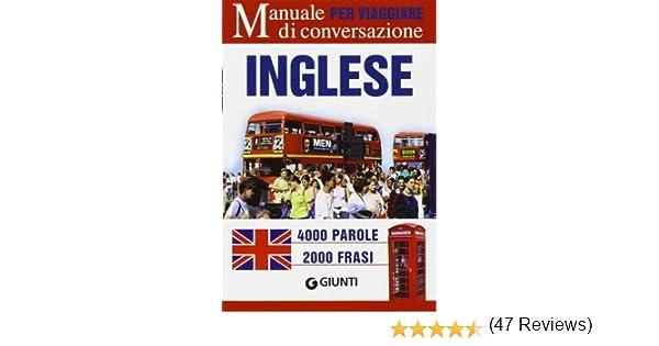 Amazon it: Inglese per viaggiare  Manuale di conversazione