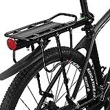 ROCKBROS Fahrradgepäckträger Mountainbike Gepäckträger Schnellspanner mit Schutzbleche und Reflektor Max. Zuladung 75kg