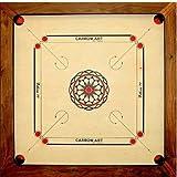 Asmodee - CBS3 - Jeu de Stratégie - Carrom Ellora - Acacia - 77 cm