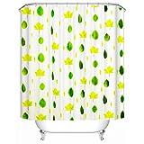 Shower Curtains Duschvorhang Upscale Umwelt PEVA Schutz Großformatdruck wasserdicht Verdickung Schattentuch (größe : 300 * 200cm)