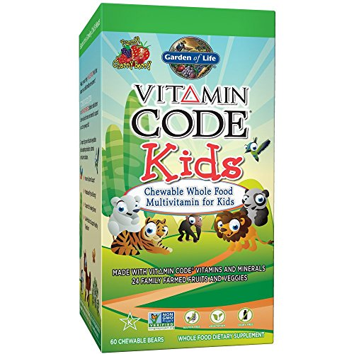 Garden of Life Vitamin Code Kids Cherry Berry -