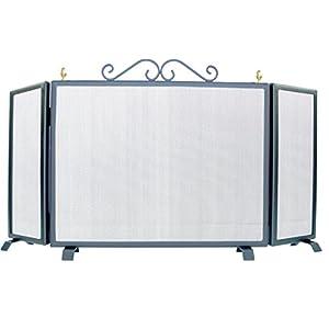 Imex El Zorro 10502-F Salvachispas plegable (forja, 110 x 60 cm)