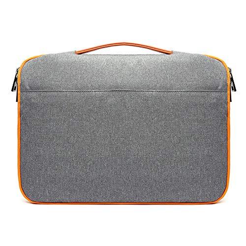 Herren- und Damenhandtaschen, 13,3/15,6-Zoll-Laptoptasche, Mezzanin-Reißverschlusstasche