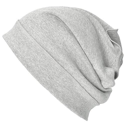 Casualbox Bio Coton Tombant Bonnet Bonnet Tombant Tricoté (Slouchy) Bouffant Chapeau pour Homme & Femmes Branché Mode Chapellerie