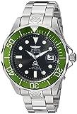 Invicta 3047 Pro Diver Herren Uhr Edelstahl Automatik schwarzen Zifferblat