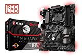 MSI B350 TOMAHAWK - Placa Base Arsenal (AMD AM4 B350 ATX , DDR4 Boost, GAMING LAN, Audio Boost, VR Ready, GAMING LEDs, Military Class V)