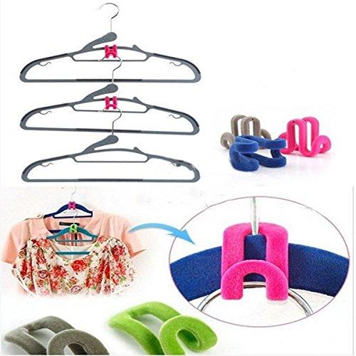 hebbier-10stk-rosa-mini-kreative-kleiderbgel-kleider-rack-beflockung-kleiderbgel