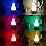 LED Nachtlicht Dexors Nacht Lampe Farbwechsel Nachtlampe 360 Grad Berührungssensor