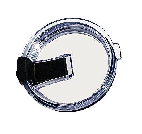 Tumbler Deckel für 20Oz Yeti, rtic Rambler und 10oz Lowball Trinkgläser, Lecken, Splash Proof Proof und Umweltfreundlicher Stroh (Deckel nur), plastik, schwarz, 30 OZ (20 Unze-kaffee-tasse Deckel)