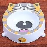 Y&J Pet Bowl Dog Flat Face Cat Bowls Alimentador de Comida para Gatos Rice Feeding Bowl Cat Accessories