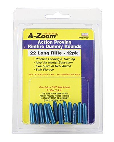Preisvergleich Produktbild A-Zoom 22 LR Action Proving Dummy Rounds (Per 12)