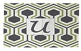 Telecharger Livres Manuel Woodworkers et Weavers Dobby Tapis de bain 4 par 6 Feet ornee d un Monogramme Lettre U gris en nid d abeille (PDF,EPUB,MOBI) gratuits en Francaise