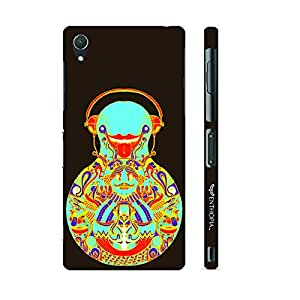 Enthopia Designer Hardshell Case Sand Balance Back Cover for Sony Xperia Z3