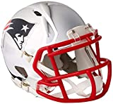 Riddell Mini Football Helm - NFL Chrome New England Patriots