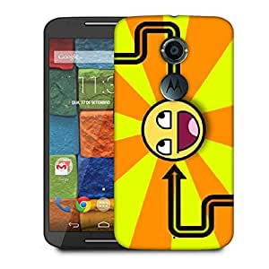 Snoogg Orange_Is Awesome Designer Protective Phone Back Case Cover For Moto X 2nd Generation