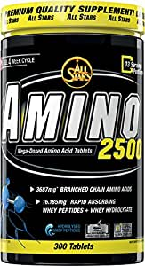 All Stars Amino 2500 - Tabletten á 2593 mg, 300 Tabletten, 1er Pack (1 x 777 g)