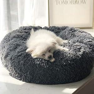 Eigenschaften      1.Langlebig und robust, bissfest; mit fortschrittlichem Lange Flusen, voll gefüllt mit PP-Baumwolle, hält Ihr Hund und Katze bequem und warm.   2Bequem, warm und gemütlich. Ideal für Haustiere, die einen gemütlichen Ort lie...