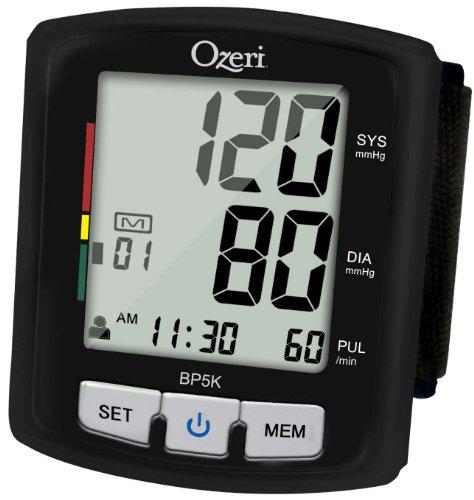 Tensiómetro Digital Voz Indicador Hipertensión Ozeri