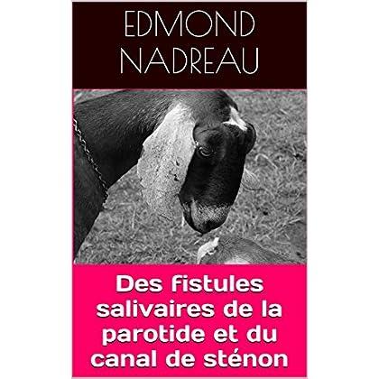 Des fistules salivaires de la parotide et du canal de sténon: Vétérinaire