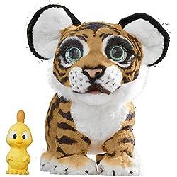 Fur Real Friends - Tyler, mi Tigre jugueton (Hasbro B9071175) (Versión en español)