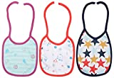 Kaboos Knot Tie Bibs for Baby - Combo of...