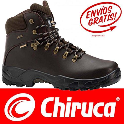 Stivali piede Chiruca Galizia 02-GORETEX in pelle, colore: marrone, 42