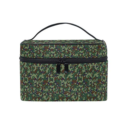 Cosmetic Bag Organizer Camouflage Military Portable