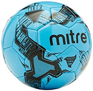 Mitre Ace Recreational Football - Cyan/Black, 3