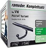 Rameder Komplettsatz, Anhängerkupplung starr + 13pol Elektrik für VW Passat Variant (113041-00423-4)