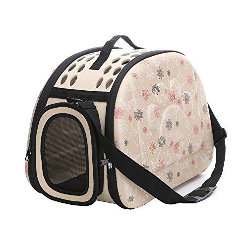 Yimidear Al Aire Libre Respirable Plegable Bolsa para Mascotas para Perro Gato...