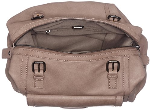 Sansibar - Zip Bag, Borse a secchiello Donna Marrone (Tan)