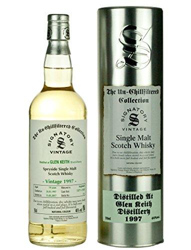 Signatory Vintage Glen Keith 19 Years Old Single Malt Scotch Whisky 1997-700 ml