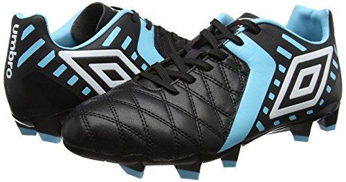 Umbro Men   s Medus   Ii Club Hg Football Boots  Black  Black White   Bluefish   11 UK 46 EU