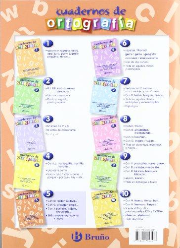 Cuaderno de Ortografía 5 (Castellano - Material Complementario - Cuadernos De Ortografía) - 9788421643471