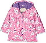 Hatley Printed Raincoats, Impermeable Bambina, Pink (Winged Unicorn), 2 Anni