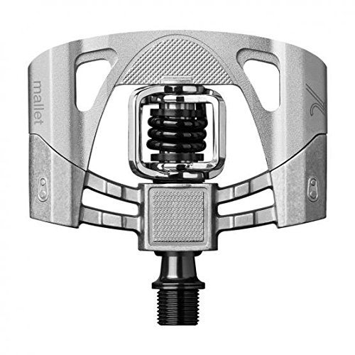 Crankbrothers Mallet 2 Pedals-Black/Silver by Crank Brothers -