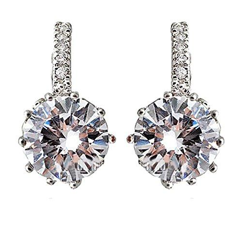Meclelin Mode Ohrringe Diamant Kristall Ohrstecker Glänzende Frauen Damen Eardrop Schmuck Geschenk