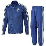 Adidas Pantalon pour homme OM EU TRG, BLEU / BLEU FONCE, S